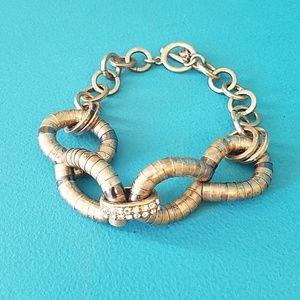LOFT metallic bracelet